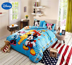 Mickey Mouse Bedroom Furniture by Online Get Cheap Queen Size Mickey Mouse Bedding Aliexpress Com