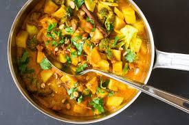 cuisine curry potato and broccoli curry recipe simplyrecipes com