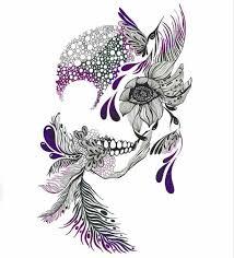 girly skull tattoos search tattoos girly