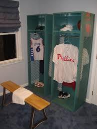 Best Baseball Room Images On Pinterest Bedroom Ideas Boy - Kids room lockers