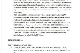 Cisco Network Engineer Resume Sample by Network Engineer Resume Reentrycorps