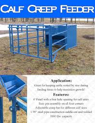 Calf Raising Barns Calf Creep Feeder Box Comederos Pinterest Calves Boxes And
