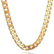 golden chain necklace men images 18k plated men gold chain necklace figaro punk style jewelry 0 5 jpg