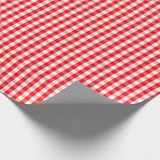 gingham wrapping paper large and green christmas gingham check tartan wrapping paper