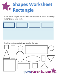 shapes worksheets and flashcards guruparents