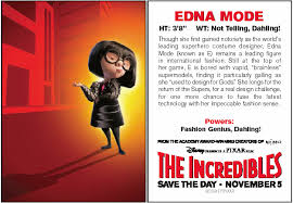Trading Card Designer Mcn The Incredibles Trading Cards