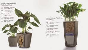 Self Watering Planters Interior And Landscape Design Proposals
