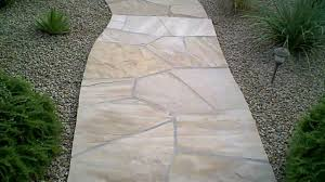 Lowes Concrete Walkway Molds by How To Seal Flagstone Apply Sealer To Stone Brick Tile Etc