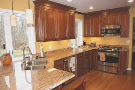 kitchen amazing cherry kitchen cabinets with granite countertops