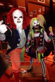 Creepy Clown Halloween Costumes 25 Scary Couples Costumes Ideas Scary