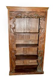 vintage bookcases antique reclaimed bookcases hand carved book
