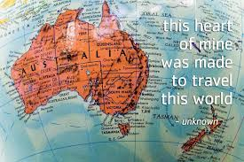 Map Quotes Thought For The Day Australia Www Transfercar Com Au
