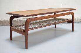 decoration annee 80 table basse scandinave de salon danois teck design années 50 60 70