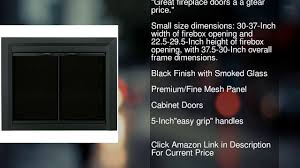 pleasant hearth glass fireplace door pleasant hearth cl 3000 carlisle fireplace glass door black