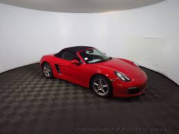 porsche boxster 2016 red 2015 used porsche boxster 2dr roadster at porsche of warwick