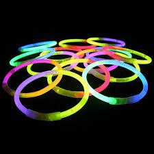 glow bracelets bright glosticks duo bi 2 colour neon glow sticks bracelets
