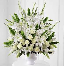 white floral arrangements morning arrangement kremp