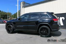 rhino jeep cherokee jeep grand cherokee with 22in black rhino spear wheels exclusively