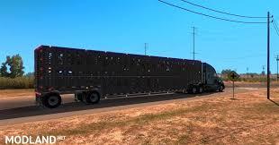 wilson livestock multi axle trailer mod for american truck