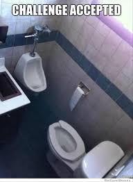 Meme Toilet - best of challenge accepted meme 36 pics