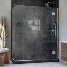 5 Shower Door Dreamline Unidoor X 30 3 8 In X 60 In X 72 In Frameless Hinged