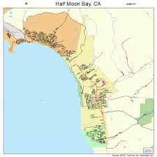 california map half moon bay half moon bay california map 0631708