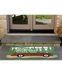 6 X 4 Area Rug Liora Manne Front Porch Indoor Outdoor Woody Pine 2 6