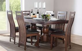 wooden dining table chairs sl interior design home and dining