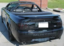 2002 Black Mustang 2002 02 Ford Mustang Gt Convertible 4 6l V8 Triple Black 159 957