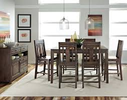 Benson Stone Rockford Illinois by Kincaid Montreat Tall Dining Table Set In Graphite By Dining Rooms