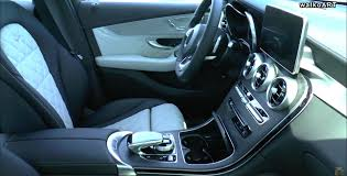 mercedes c class suv mercedes glc interior completely revealed in suv has c