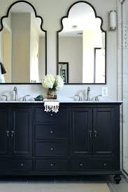 Antique Black Bathroom Vanity Vanities Black Double Vanity Unit Like The Mirrors Bathroom