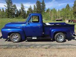 ford truck blue 1954 ford f100 for sale on classiccars com