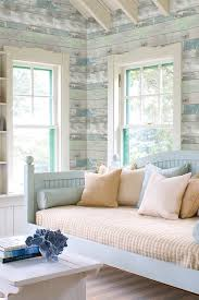 Bedroom Wallpaper Patterns Dean Blue Distressed Wood Panel Wallpaper By Brewster Home