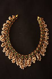 small necklace designs images 22k gold south indian designer indian emerald necklace with small jpg