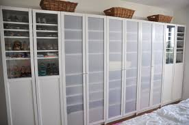 Ikea Billy Bookcase With Doors Great Bedroom Storage With Ikea S Billy Bookcases Cheap And Easy