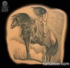 horror horse tattoo design tattoos book 65 000 tattoos designs