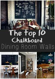 Trend To Love Dining Room Chalkboard Walls Chalkboard Walls - Dining room walls