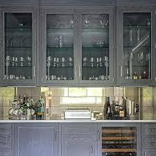 Oak Bar Cabinet Gray Wash Oak Bar Cabinets Design Ideas