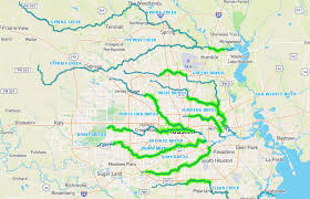 bayou map you can now check on all the new bayou bike trails from the