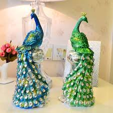 wedding gift decoration ideas gift picture more detailed picture about resin peacock
