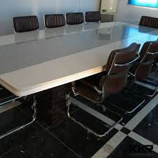 marble conference room table white solid surface quartz stone marble conference table buy