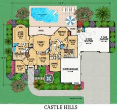castle plans castle hill residential house plan luxury house plan