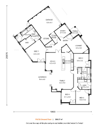 plan lodgemont cottage floor great house plans black white depth