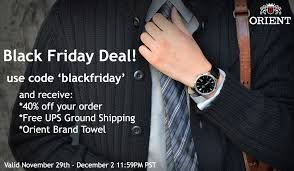black friday deals on mens watches announcing orient watch usa u0027s black friday sale