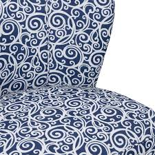 Blue And White Accent Chair by Madison Park Hilton Armless Accent Chair Ebay