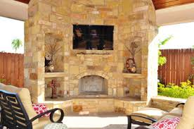Outdoor Fireplace Houston by Cypress Outdoor Kitchen Outdoor Living Fire Pits Fireplaces