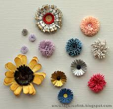tutorial quilling flower layers of ink quilling fringed flowers tutorial