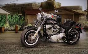 Radio Control Harley Davidson Fat Boy Harley Davidson Flstf 1990 V1 1 For Gta San Andreas