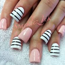 the duckbill nails but colors are cute nail art pinterest